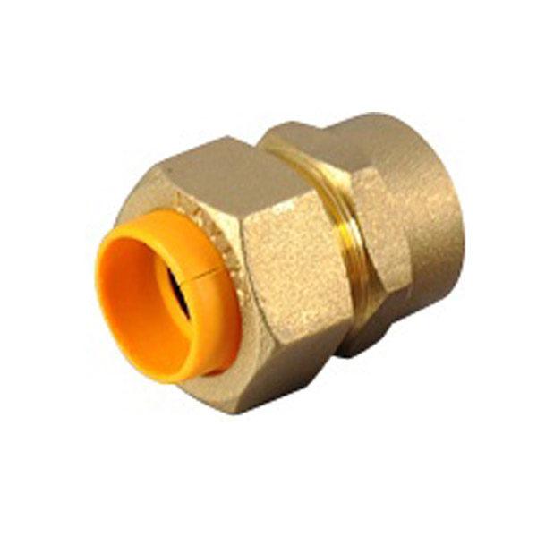 """Муфта соединительная """"труба-внутренняя резьба"""" с диэлектрической вставкой для газа G-V/S (F) (мама)"""